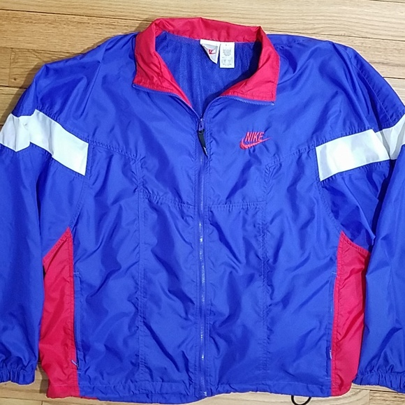 8eb7f793be Vintage Nike White Label Windbreaker. M 5b54998a34a4efa4dcbe0a60. Other  Jackets   Coats ...